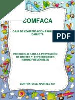 Protocolo Para La Prevención de Brotes y Enfermedades Inmunoprevenibles