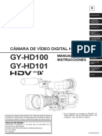 Manual JVC GY-HD100