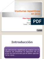 Estructuras Repetitivas Java