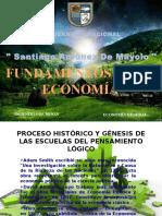 Proceso Histórico y Génesis de Las Escuelas ecoonomicas