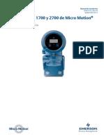 Medidor Coriolis 1700 2700 Install Manual