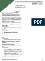 Cáncer de Esófago Tratamiento Protocolos_ Resumen, Recomendaciones Generales Basadas en La Etapa, Neoadyuvante Quimioradioterapia, Enfermedad Resecable