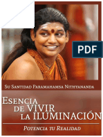 Essence of Living Enlightenment by Paramahamsa Nithyananda in Spanish