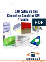 GURUCAD CATIA V5 DMU Kinematics Simulator KIN Training De