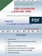 CIP - Calidad Del Aire en Lima