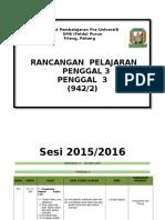 RANCANGAN PENGAJARAN GEOGRAFI STPM PENGGAL 3 TAHUN 2016