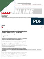 Empat Pelajar Disyaki Terbabit Gengsterisme Ditahan Di Pulau Pinang _ Jenayah _ Berita Harian