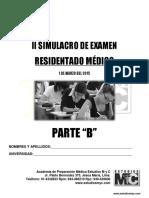 Tema B 2do SimulacroResidentadoMedico2015 1deMarzo 1