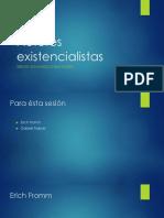 Existencialistas en Psicologia