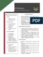 Dr. Wilfredo Rodriguez - Curriculum Vitae
