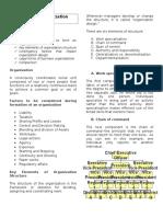 Lecture 2. Organization Structure
