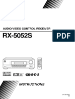 Manual Jvc Rx-5052