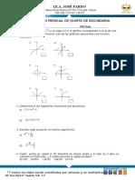 Examen de Matematica 1er Bimesdtre