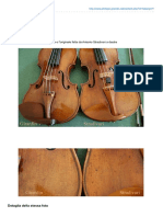 Philippe Girardin - Vernice Violini Stradivari