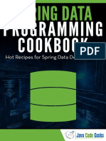 Spring Data Cook Book