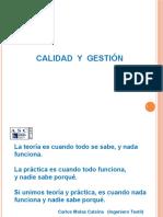 Calidad y Gestic3b3n