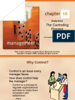 CHAPTER 10 the Controlling Process