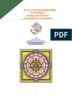 Sree Lalitha Sahasranama Stotram & AshtaLaxmi Stotram Explanation & Translation.pdf