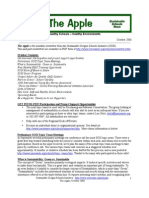 The Apple Newsletter, October 2006, Sustainable School News