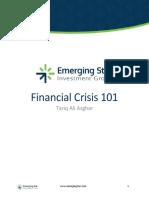 Financial Crisis 101