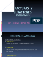 Diagnóstico Por Imagen - Huesos, Fracturas y Luxaciones