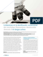 2016 - Limitaciones en la identificación convencional del morfotipo filamentoso Nostocoida limicola II en fangos activos