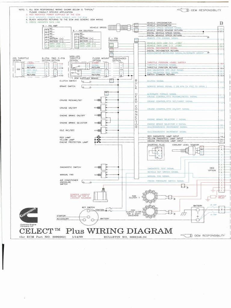 20 Lovely N14 Cummins Ecm Wiring Diagram