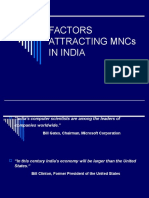 Factors Attracting Mncs in India Ppt[1]