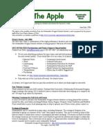 The Apple Newsletter, June-July 2006, Sustainable School News