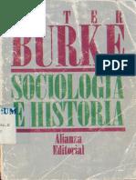 Burke, Sociologos e Historiadores
