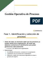 Semana 5. Presentación. Gestión Operativa de Procesos (1)