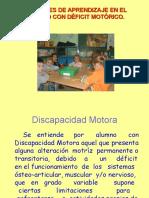 Presentacion Defientes Motóricos. Infornet. Reformada 05.06