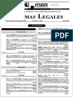 Categ. Fauna Amenazada, Ds 034-2004-Ag