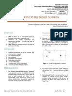 Laboratorio Dispositivos Activos - Características Del Diodo de Unión (1)