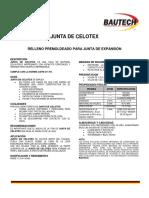 Junta Celotex