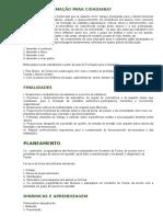 Cidadania - Documento Geral