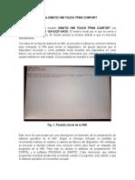 Reporte de Revisión de Simatic Hmi Touch Tp900 Comfort