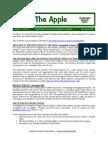 The Apple Newsletter, December 2005, Sustainable School News