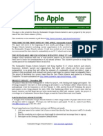 The Apple Newsletter, December 2005, Sustainable School News
