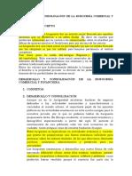 Desarrollo y Consolidación de La Burguesía Comercial y Financiera