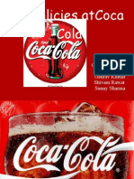 HR Policies of Coca Cola by Faraz Shahid