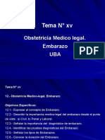 Tema Xv Obstetricia Medico Legal Embarazo