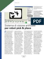Sistema di Visione Artificiale per Robot Pick&Place