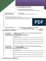 Curriculum de Angel Jimenez