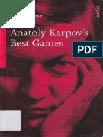 Anatoly Karpov - Anatoly Karpov's Best Games.pdf