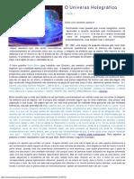 O Universo Holográfico.pdf