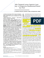 Dysphotopsia After Temporal Versus Superior Laser Peripheral Iridotomy- A Prospective Randomized Paired Eye Trial