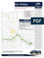 Bus Route Map Randburg S4 New