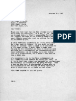 Eric Berne Letter to Henry Simon, 1953-10-17