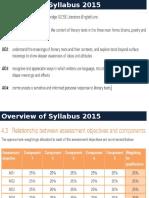 Syllabus 2015 & Component 2 Drama